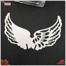 Романтические крылья Ангела Стекло карточка чашка название марки карты брака на свадьбу и день рождения, 50 шт в наборе, орнамент 6ZSH863-50