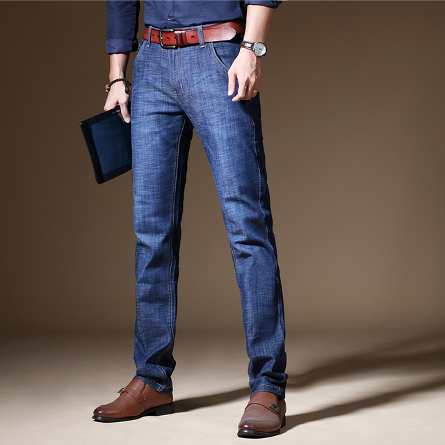 968895fba0 Nueva llegada Jeans de marca famosa para hombres
