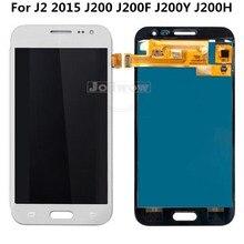 Can Adjust Brightness  J200 LCD For Samsung J2 2015 J200F J200Y J200H Digitizer Touch Screen Assembly