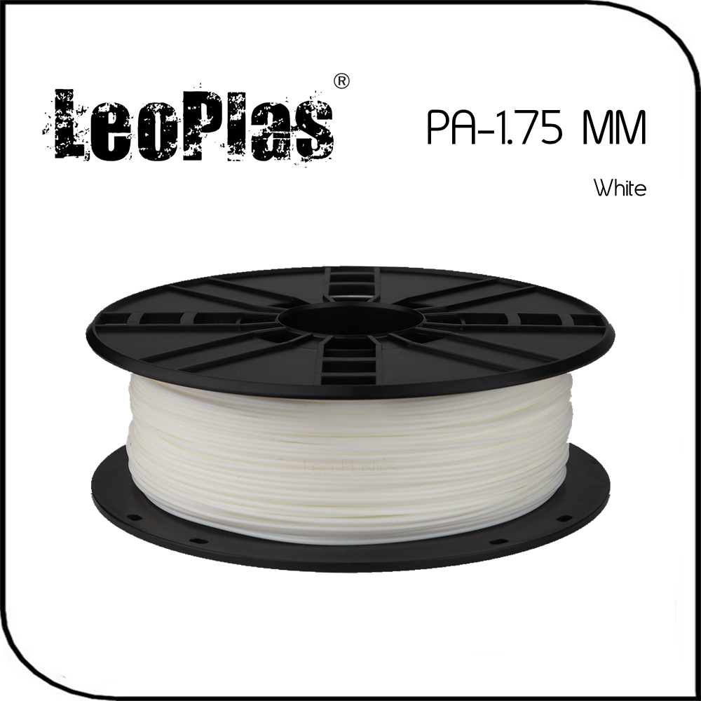 ФОТО Worldwide Fast Delivery Direct Manufacturer 3D Printer Material 1kg 2.2lb 1.75mm White PA Filament