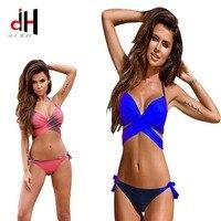 DA HAI Brand Swimwear Women 2017 Bikini New European And American Sexy Women Swimming Suit Bikinis