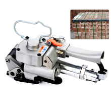 3KW Portable Pneumatic PP Strapping Tool 2800N Binding Packing Machine For 13 16 19mm PP Pneumatic Baler Free Buckle  A19 недорго, оригинальная цена