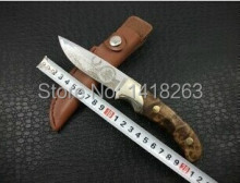High Quality 58HRC 440C Tactical Knife Outdoor Tools Survival Hunting Knives Camping Tool Straight Knife