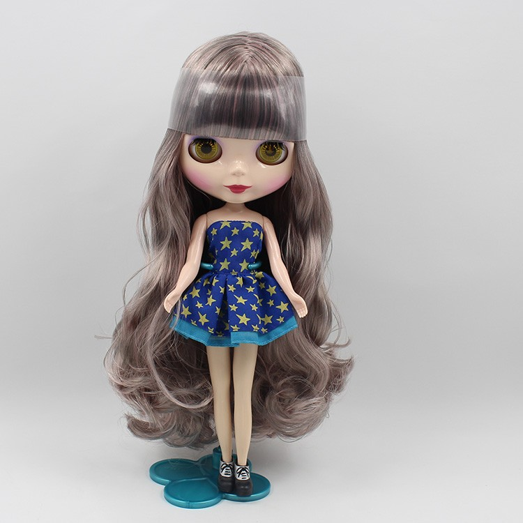 Blyth Nude Doll For Series No.280BL331golden Hair Suitable