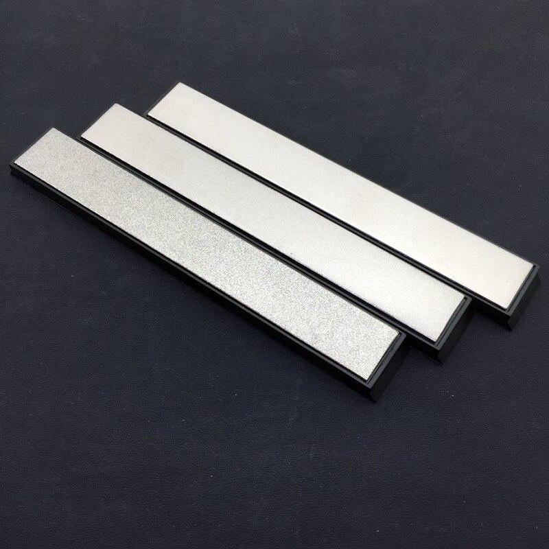 Fixed Angle Diamond Kitchen Knife Sharpener Stones Whetstone 400# 800# 1500# 3 Pcs a Set