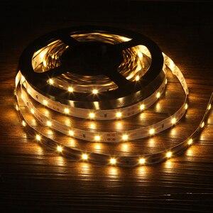 Image 3 - Светодиодная лента 2835 RGB, 5 м, 300 светодиодов, 12 В постоянного тока, красный, зеленый, синий, теплый белый, холодный белый, гибкая SMD 2835, светодиодная Диодная лента, лента, лампа