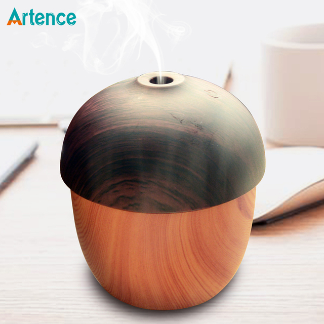 Air Humidifier USB Aroma Essential Oil Diffuser Ultrasonic Cool Mist  Purifier 7 Color Change LED Night light for Office Home
