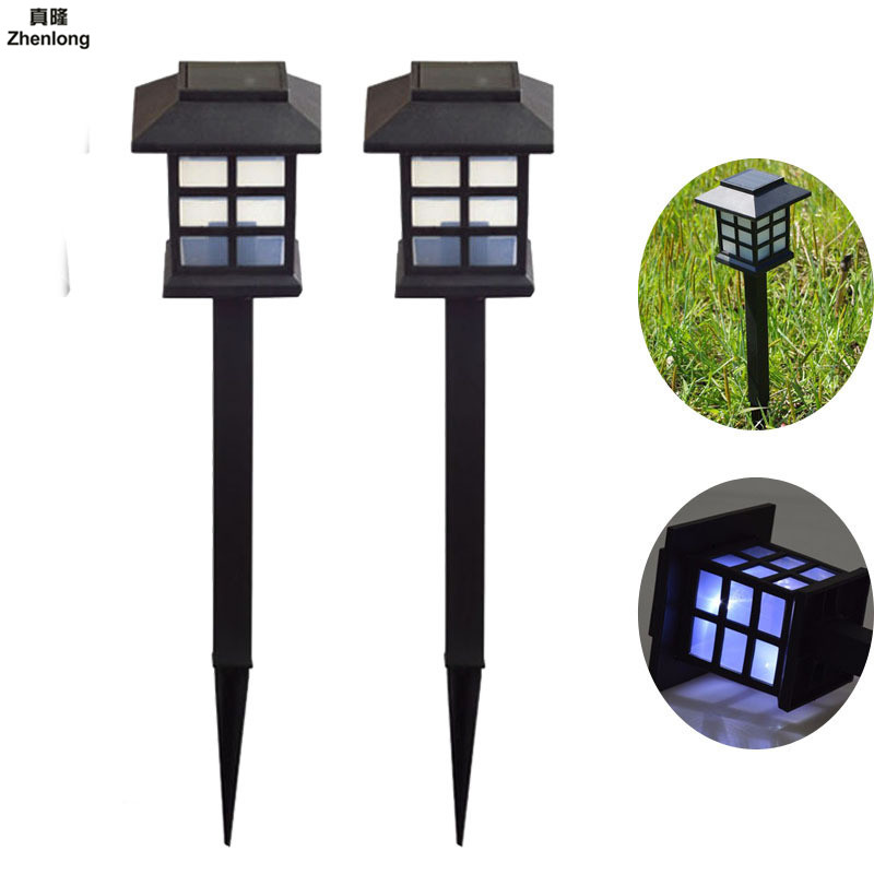 Outdoor Solar lamp 1pc Palace Lantern Solar power led light IP55 6V solar lamp Garden Landscape solar Light Landscape Decoration