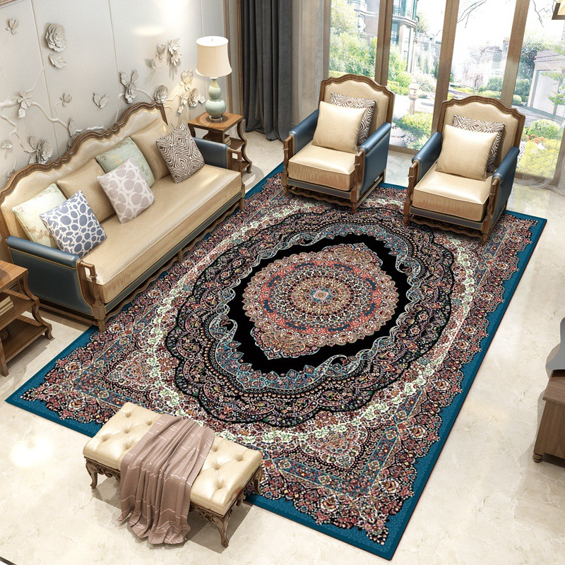 Romantic 130x190cm Pastoral Carpets For Living Room Modern Bedroom Bedside Rugs And Carpets Sofa Coffee Table Area Rug Home Floor Mat Home Textile Home & Garden