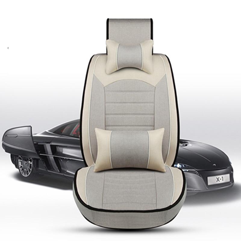 Luxury Flax car seat covers universal full surrounded cushion for volvo 850 s40 s60 s80 s80l v40 v50 v60 v70 xc60 xc70 xc90 штатная видеокамера парковки redpower vol115 для volvo xc90 07 15 xc70 07 xc60 08 v60 10 v70 07 v50 07 s60 10 s80 06 skoda octavia tour