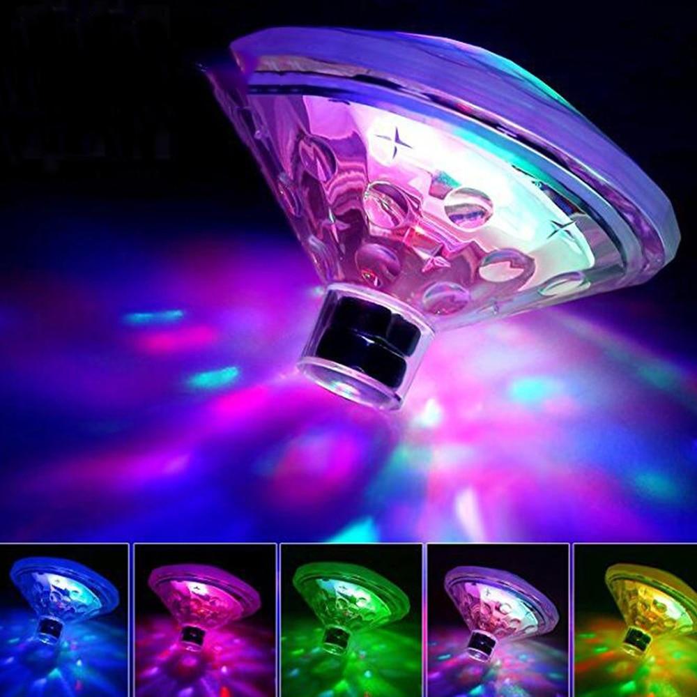 New Diamond Underwater Light Baby Bathtub Lamp Col...
