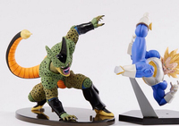 Banpresto SCultures Dragon Ball Vegeta Cell PVC Action Figures 15CM Dragon Ball Z Vegeta Collectible Model Toy Doll Figuras DBZ