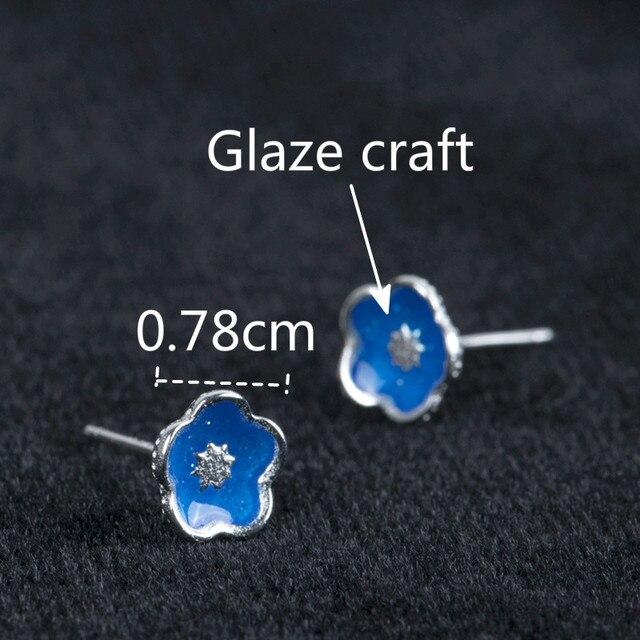 Купить висячие серьги гвоздики из 100% стерлингового серебра 925 пробы картинки