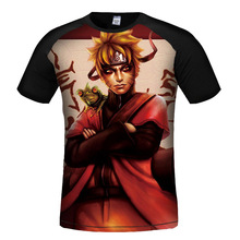 Naruto 3d Printed High Quality O Neck T-Shirts