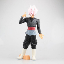 Anime ROS Dragon Ball Z Black Rose Goku DBZ PVC Action Figure Toys son gokou Figurals