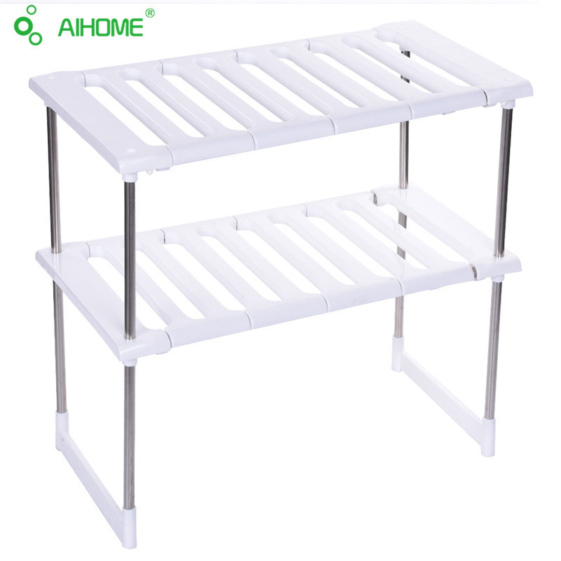 Aihome no-clavo de acero de carbono de carga creativa cocina armario baño separa