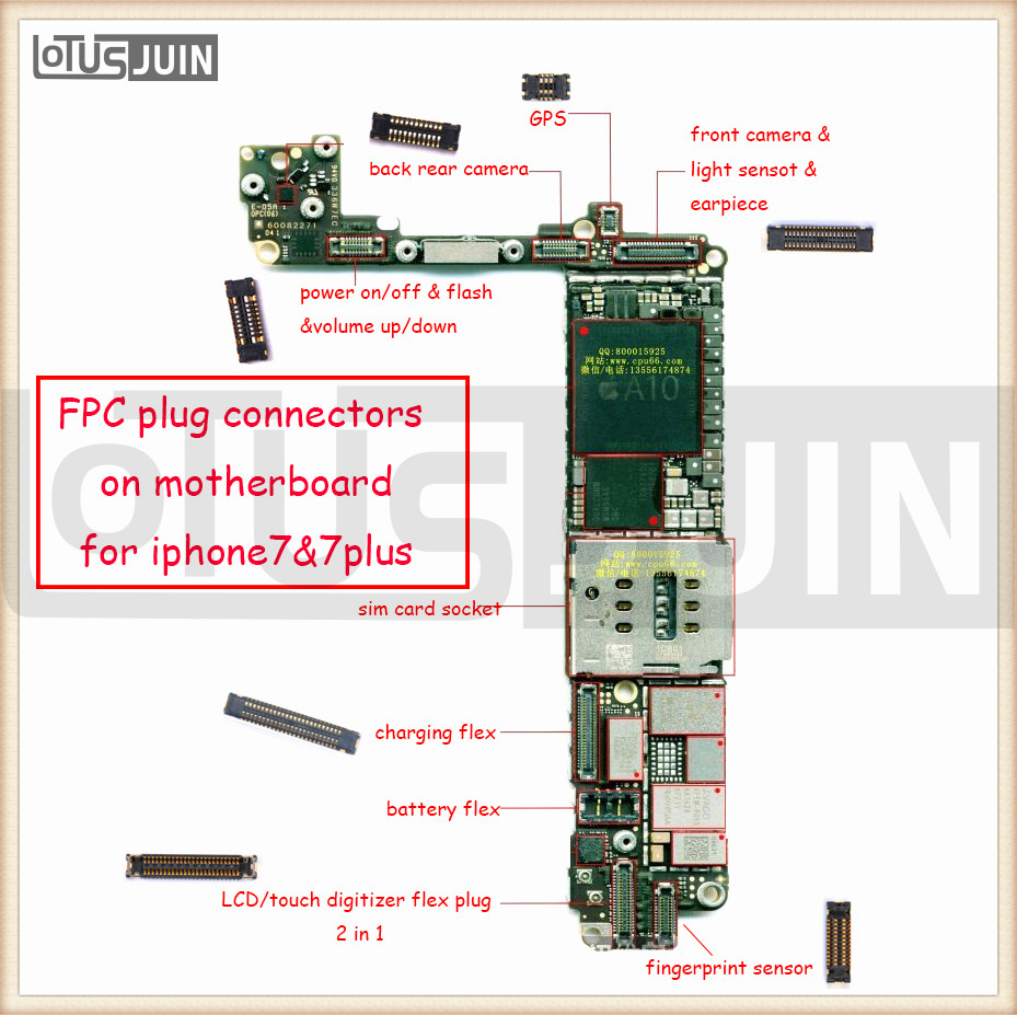 2pcs Logic Board Lcd Trouch Screen Camera 3d Backlight Gps