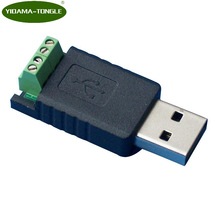 USB to RS485 Converter Adapter FTDI chipset 485 terminal block serial Module adapter for Win7 XP Vista Linux MacOS WinCE Android 1pc usb to rs485 usb 485 converter adapter support for win7 xp vista for linux for mac os