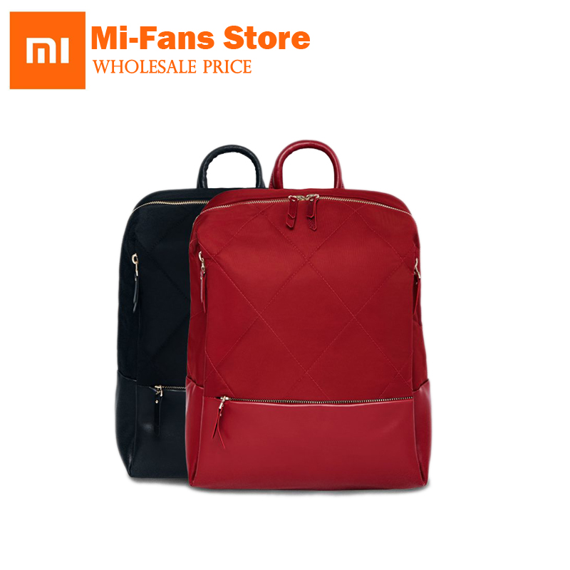 xiaomi 90 Points Fashion City Lingge Shoulder Bag Backpack Waterproof Bag Women Girl Shopping School College Travel Trip 2017 fashion women waterproof oxford backpack famous designers brand shoulder bag leisure backpack for girl and college student