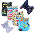 Envío gratis 2016 fashion color cubierta snap lavables reutilizables del paño del bebé pañales pañales pañales pañales todo en un tamaño 21 colores