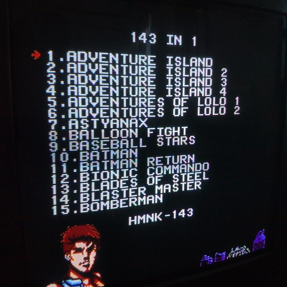 THE 143 In 1 BEST VIDEO GAMES DI TUTTO IL TEMPO! Contra / Earthbound - Giochi e accessori - Fotografia 2
