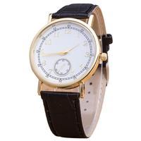2017 The Newst Watches Top Brand Quartz Wristwatch Pattern Leather Band Analog Quartz Vogue Wrist Watches Fashion Watch  Relogio