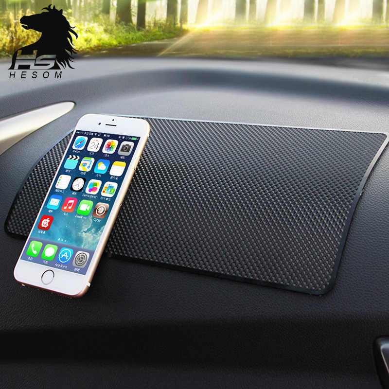 Vreat Car Dashboard Anti Slip Mobile phone pad rubber Slip Mat  Sticky Pad For Hyundai Mazda Toyota Interior Accessories