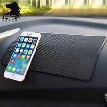 Vreat Car Dashboard Anti Slip Mobile phone pad rubber Slip Mat Sticky Pad For Hyundai Mazda Toyota Interior Accessories(China)