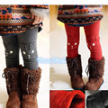 Menina legging crianças caráter roupas projeto do coelho da neve do inverno das crianças quentes leggings para meninas calças de alta qualidade calças quentes