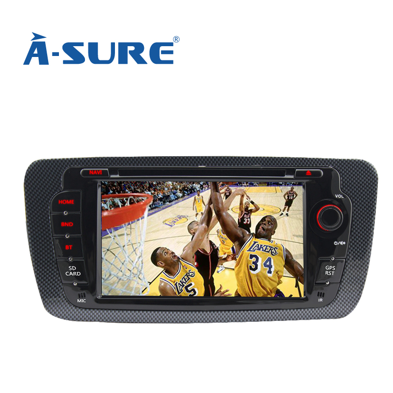A Sure DVD font b GPS b font Player Bluetooth Car Sat Nav Stereo Radio Navigation