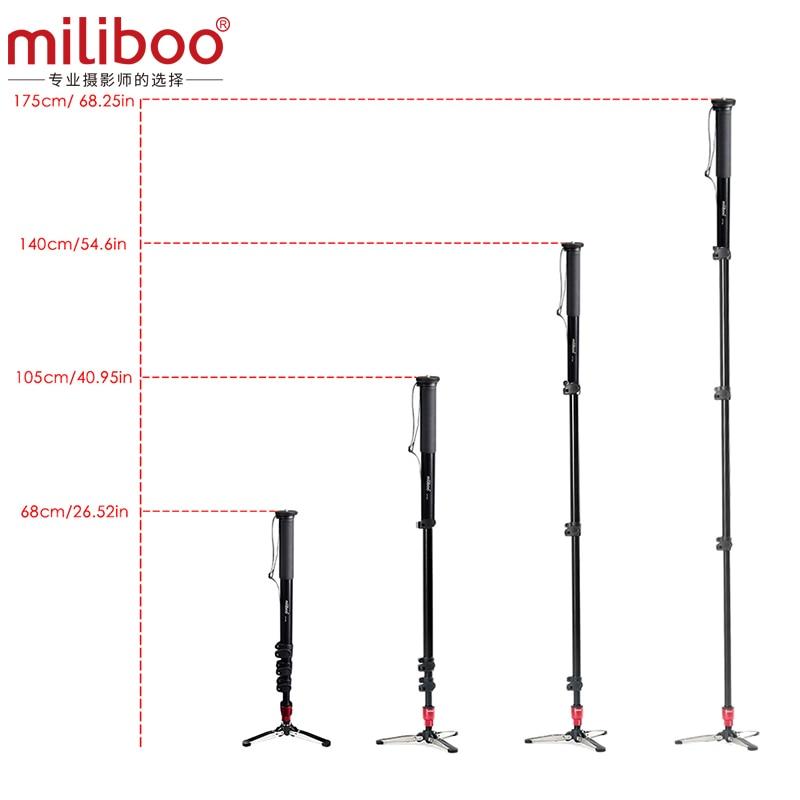 miliboo MTT705B Professional DSLR / Kamera / Videokamera Tripod - Kamera və foto - Fotoqrafiya 5