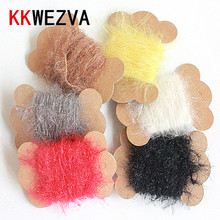 6 Color 30m Fly Fishing Tinsel Crystal Flash Line Rig Bait Making Assorted Fly Tying Streamer Flies Material for Nymphs Body цена в Москве и Питере