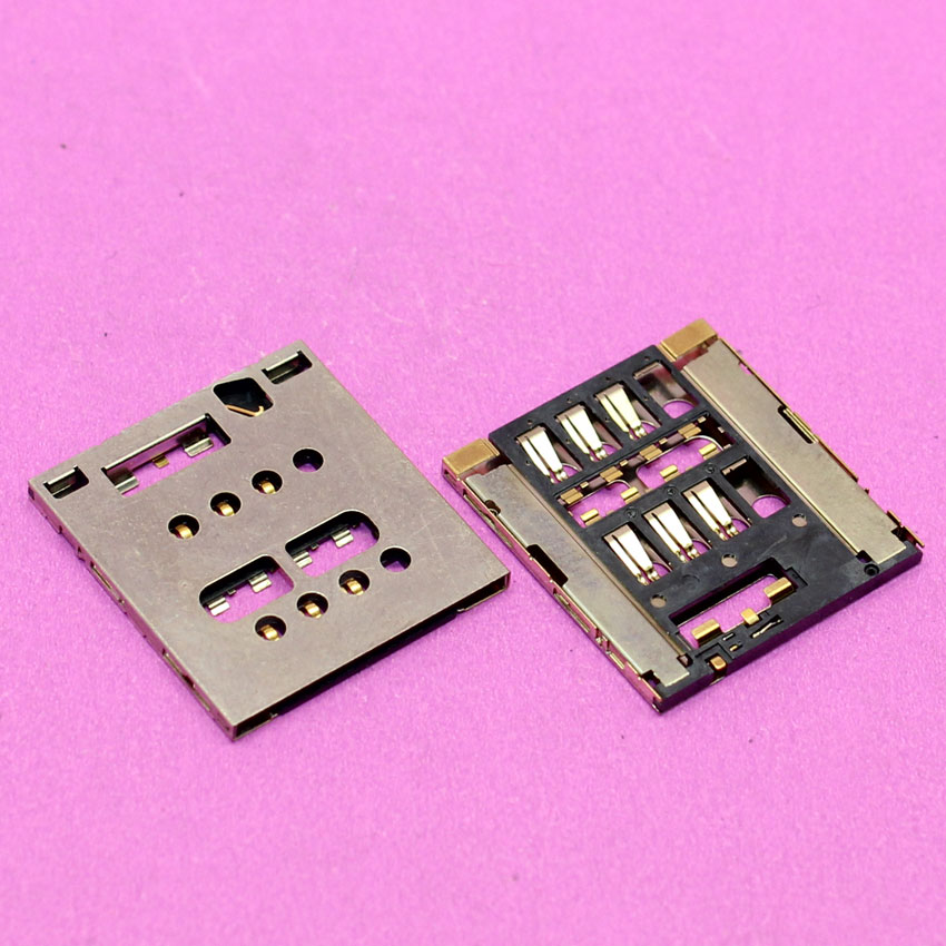 YuXi Replacement sim card reader holder adapters for LT28 LT28I LT26w memory card socket tray slot module