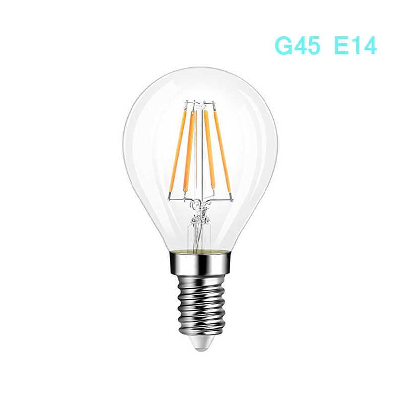E14 LED Candle Bulb E14 C35 Filament Light E27 LED Lamp Replace 25w 40w 50w Incandescent LED Bulb E27 220V A60 bombilla
