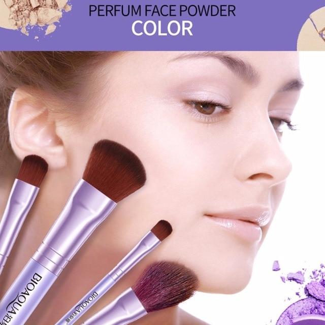 7PCS/SET Pro Women Facial Makeup Brushes Set Face Cosmetic Beauty Eye Shadow Foundation Blush Brush Make Up Brush Tool BIOAQUA 2