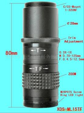 New Machine vision lenses Widely used in great depth of electronic products test 20X-60X!free shipping!New Machine vision lenses Widely used in great depth of electronic products test 20X-60X!free shipping!