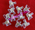 25 teile/los 6A 1 Position PC material terminal block draht-anschluss