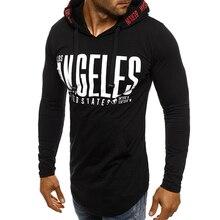 593bb0447 Men s Los Angeles Word Print Hoodies Mans Womans Slim Fit Streetwears  Casual Pullover Long Sleeves