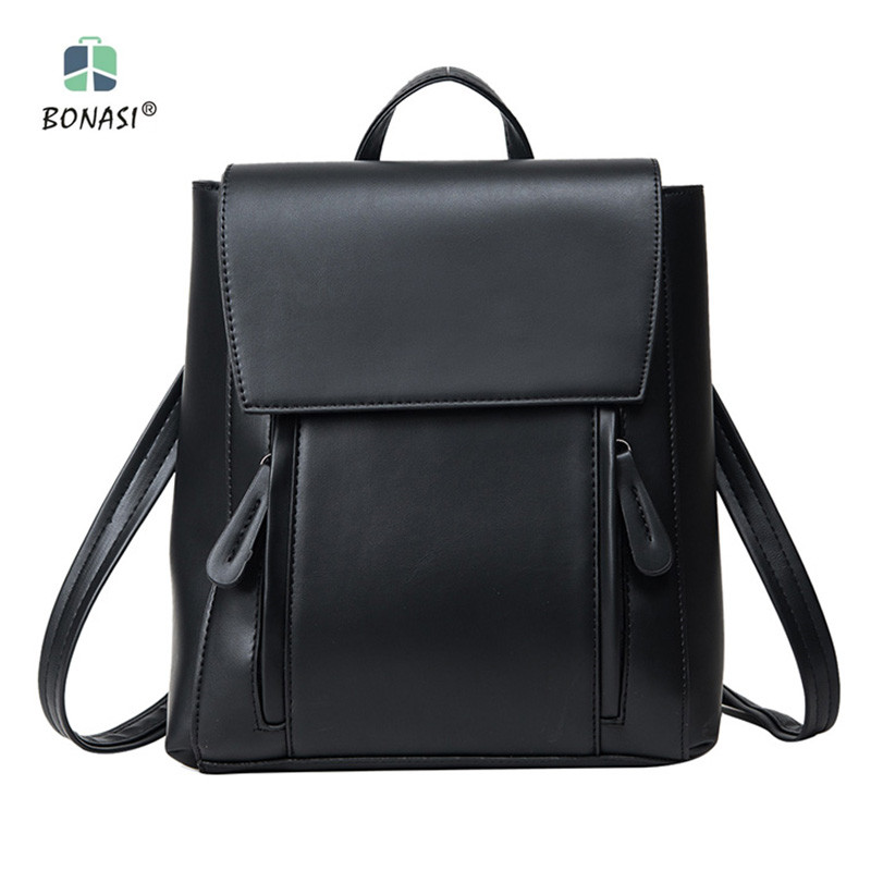 ФОТО A01 Hot sale! Free shipping 2017 new fashion PU leather waterproof women backpack buy and get free gift now