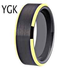 100% Tungsten Carbide Ring for Men and Women Classic Wedding Engagement Ring Free Engraving Anniversary Jewelry Matte Finished