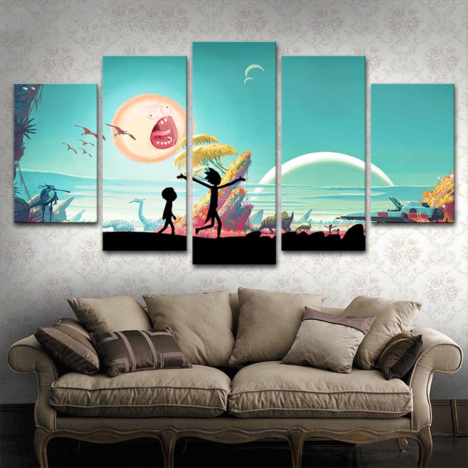 Buy canvas pictures home decor framework for Home decoration images hd