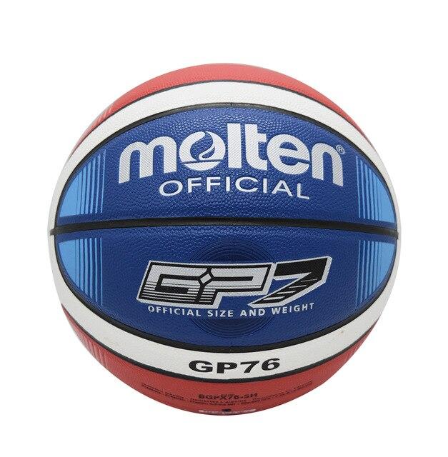 D'origine fondu basket ball GP76/GP78 NOUVELLE Marque de Haute Qualité Véritable Fondu Pu Officiel Size7 Basket-Ball