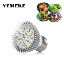28LEDs E27 Led Grow Light Full Spectrum Led Lamps For Plants Grow Lamp Led Grow Light Greenhouse Indoor Garden Hydroponic System 800w 800led grow light full spectrum led plant lamp for indoor plants flowers vegetables herbs greenhouse commercial hydroponic