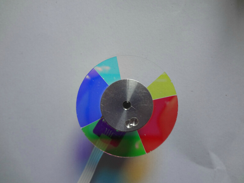 Free Shipping ! NEW Color wheel for OPTOMA ES526/ES526L/ES521/EX536L/PV2223/PV2225 Projector Color Wheel