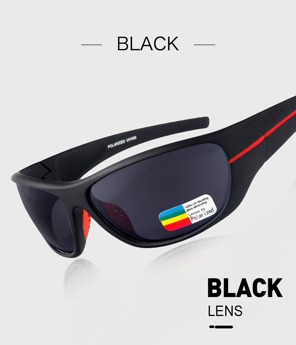 Queshark profissional tr90 quadro hd polarizado óculos