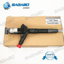 GENUINE AND BRAND NEW 095000-6240 DIESEL INJECTORS for  NISSAN YD25 NAVARA PATHFINDER D22 095000-6240 16600-VM00A 4 pcs genuine new injector 095000 6240 095000 6243 for 16600 vm00a 16600 vm00d 16600 mb400 for navara yd25 euro iv 2006 10