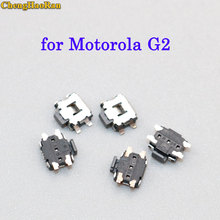 цена на ChengHaoRan 5-10pcs New Power On Off Switch / micro switch Button repair replacement parts for Motorola MOTO G2 XT1077 XT1079