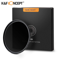 K&F MRC Slim ND1000 52/58/62/67/72/77/82mm Camera ND filter Lens Super HD Glass Neutral Density Filter For Sony Canon Nikon