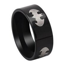 VNFURU Mens Rings Black Gun Color For Men Engagement Party  Dropshipping