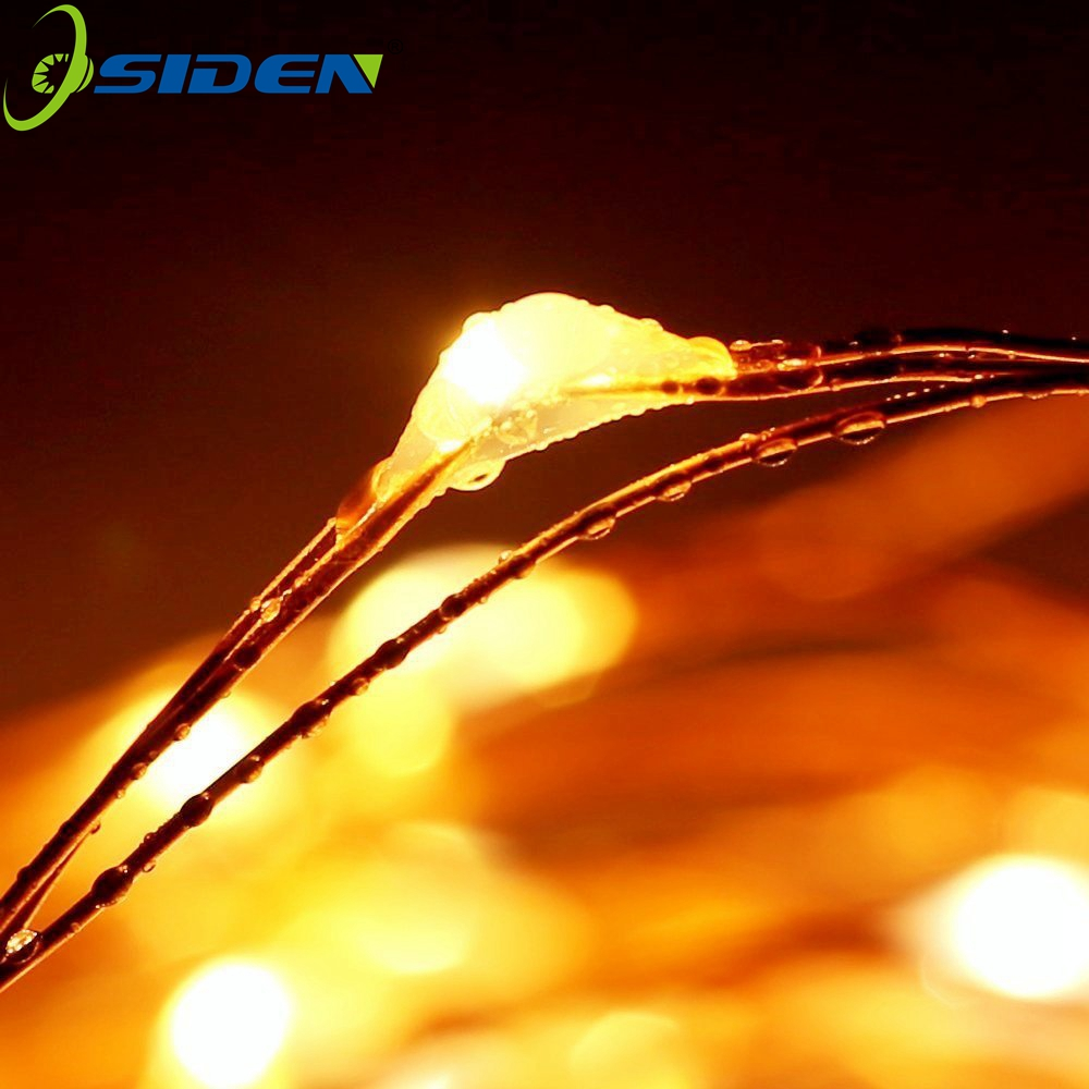 OSIDEN Bateri String Light 2m 20 LED Starry Light String Krismas - Pencahayaan perayaan - Foto 5